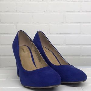 Old Navy Blue Pumps Size 9